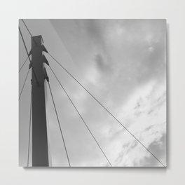 Bridge Detail Metal Print