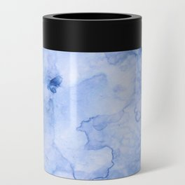 Marbled Water Blue Can Cooler