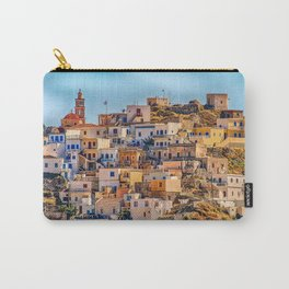 Beautiful Town - Karpathos Island, Greece Carry-All Pouch