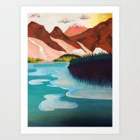 outdoor Art Prints featuring Outdoor by salauliamusu