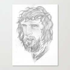 Kris Kristofferson - Sketch Canvas Print