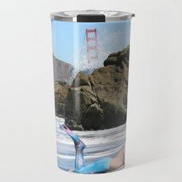 San Francisco Merman Travel Mug
