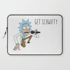 Rick and morty Get schwifty Laptop Sleeve