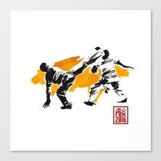 Capoeira 1018 Canvas Print