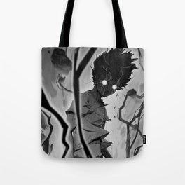 Mob Psycho 100 BW Tote Bag