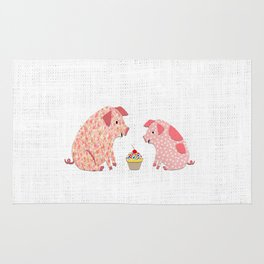 Pig Party Rug