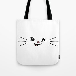 Gumdrop Joy Selfie - (with whiskers) Tote Bag