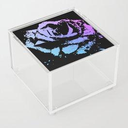 Splattered Rose Acrylic Box