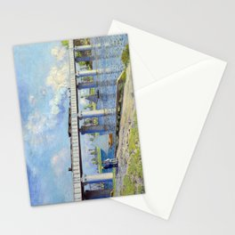 Claude Monet - Railway Bridge Stationery Cards