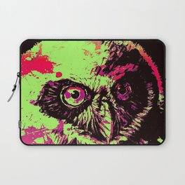 Rainbow Spectacled Owl Laptop Sleeve