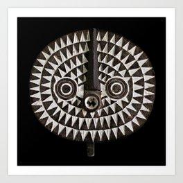 Bobo Bwa Sun Mask Art Print