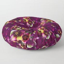 Moody florals Floor Pillow