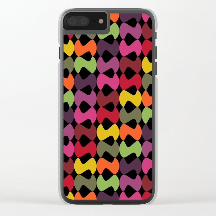 Pattern #31 Clear iPhone Case