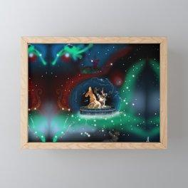 Wing Deer Framed Mini Art Print