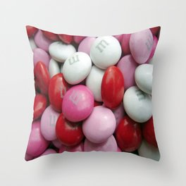 Valentine Candy Throw Pillow