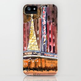 Radio City Music Hall at Christmas iPhone Case