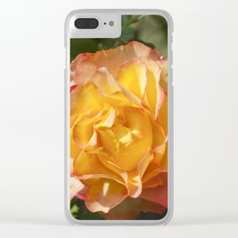 Rose Clear iPhone Case