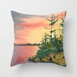 William #5 Throw Pillow