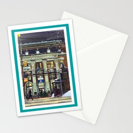 Winter at Barnard College   Barnard Seasons Series Stationery Cards
