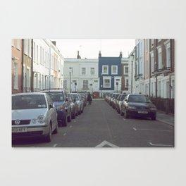 London Streets Canvas Print