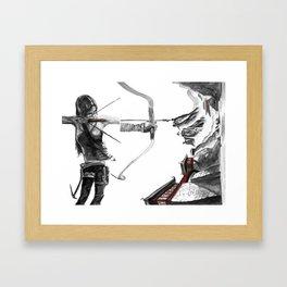 Lara Croft: Dimensional Shift  Framed Art Print