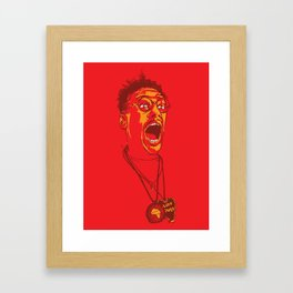 Buggin' Out Framed Art Print