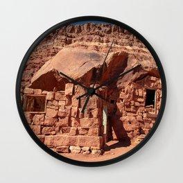 Cliff_Dwellers Stone_House - I Wall Clock