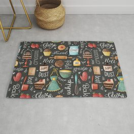 Bake Love Pattern Rug