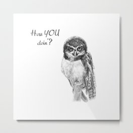The Spectacled Owl Metal Print