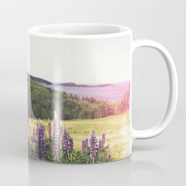 Lupine Flowers of the Maritimes Coffee Mug