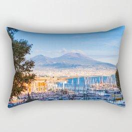 Naples, Italy Rectangular Pillow