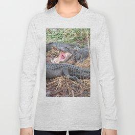 Say Aahhh Right Long Sleeve T-shirt