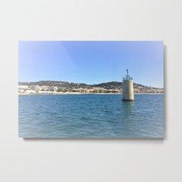 Cote d'Azur (Cannes) Metal Print