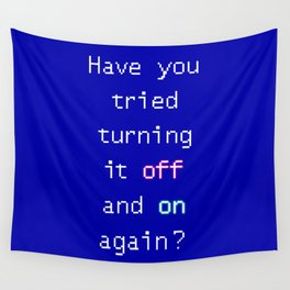 Tech suppor Wall Tapestry