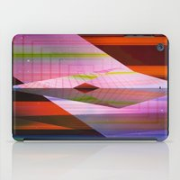 airplane iPad Cases featuring Paper Airplane by Laura Santeler