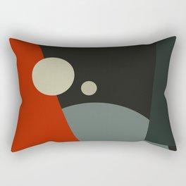 BAUHAUS GOING TO MARS Rectangular Pillow