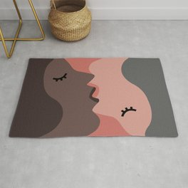 Love, Kiss, Couple Rug