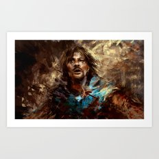 Boromir Art Print