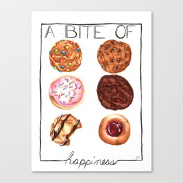 Sweet Bite Canvas Print