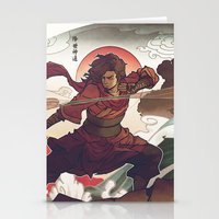 avatar Stationery Cards featuring Avatar State by Caleb Thomas