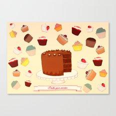 I Bake your Pardon! Canvas Print