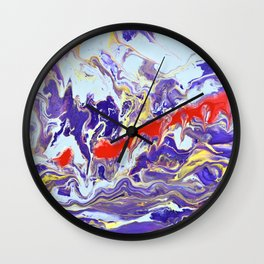 Evidence Wall Clock