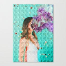Dissociate Canvas Print