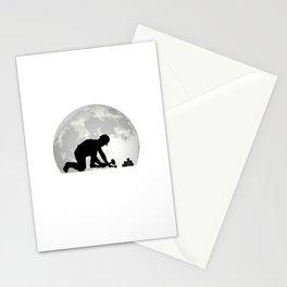 Paver Moon Stone Setter Pavement Stationery Cards
