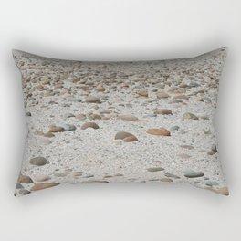 Stones on the Beach Rectangular Pillow