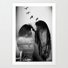 and freedom... Art Print