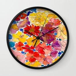Meadow Nap Wall Clock