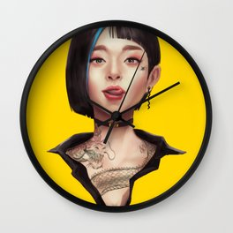 Tin Wall Clock