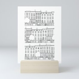 blocks of Brooklyn Mini Art Print
