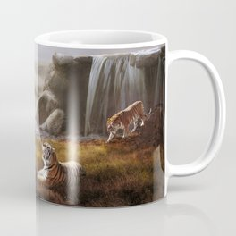 Endangered Siberian Tigers Coffee Mug